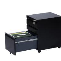 储物矮柜移动柜 办公钢制文件柜活动柜