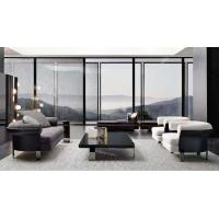 客厅沙发 极简羊羔椅 圆形椅 茶几沙发椅 休闲櫈