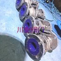 手动搪瓷出料球阀 Q41TC-10 DN80