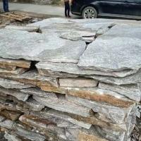 青灰色碎拼石  青灰色片石毛石板  灰色垒墙石