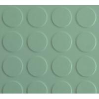 泊奈森橡胶地板-防滑圆浮点-铜钱纹2--10毫米