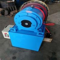 大棚管电动缩管机 车棚车架缩管机 全锥度铁管缩口机