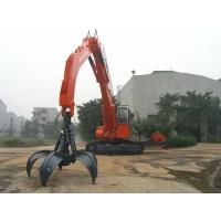 工厂定制小松450抓钢机四瓣梅花液压爪机械抓木器