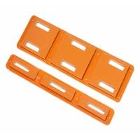 5mm橘红色电木板