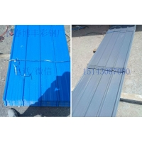 长春周边 彩钢板瓦 单板瓦 工地围挡板 品质保证 各种厚度