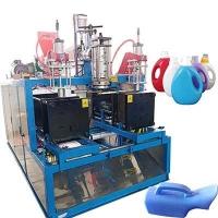邢臺2升洗衣液桶65款雙工位吹塑機吹瓶機