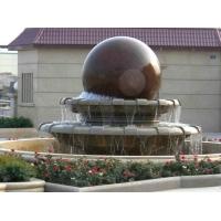 石雕风水球 风水球喷泉 景观雕刻石材