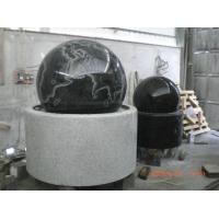 花岗岩风水球 石雕地球风水球 石雕喷泉