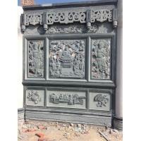 寺庙宗祠石材浮雕 青石浮雕 石雕花窗