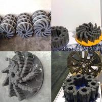 毛刷定制加工|汽車輪轂加工拋光毛刷