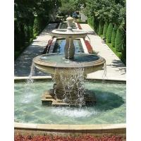 埃及米黃水缽 景觀歐式水缽 大型石雕噴泉