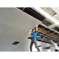 玻纤吸音垂片悬挂吸声体是什么材质的 是环保材料吗