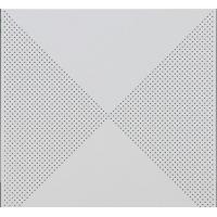 对角冲孔铝天花板 装饰美观施工方便