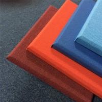 装饰布艺软包板 玻璃棉复合吸音板 全屋定制墙板