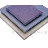 室内装饰布艺彩色软包板 墙面装饰用布艺软包板 布艺吸音板