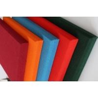 布藝玻纖吸音板防火防潮防磕碰 室內墻體軟包吸音板裝飾
