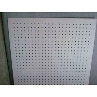 巖棉復合硅酸鈣吸音板 墻面施工 隔音保溫穿孔復合板