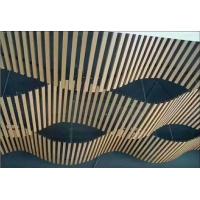 木纹铝方通 圆管方通 矩形方通 各种型材铝制品
