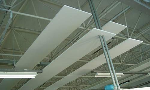 屹晟彩色吸音板 多边异形体玻纤板 规格颜色厂家定制
