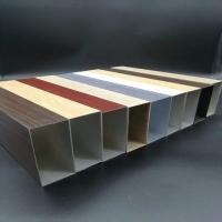木紋鋁方通 幕墻木紋鋁合金方通 木紋鋁方通天花