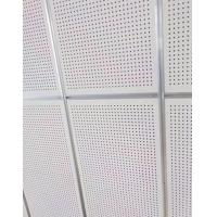 穿孔吸音板 巖棉硅酸鈣復合板 會議室機房用墻壁穿孔吸音板