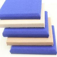 布藝吸音板 裝飾背景墻彩色布藝軟包板定制多邊形布藝玻纖板