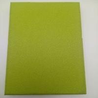 防火布藝吸音板 藍色布藝軟包吸音板 美觀裝飾軟包板