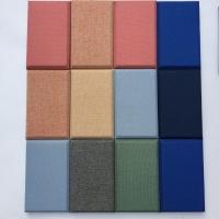 布藝吸音板裝飾隔音板 墻面隔音裝飾軟包布藝吸音板