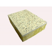 厂家报价岩棉保温装束一体板 每平米价格
