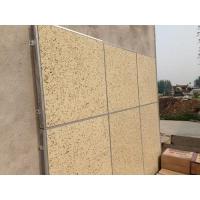 双面硅钙板保温一体板 强度大耐磕碰