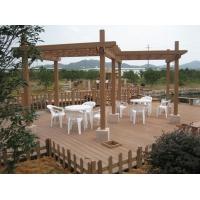 绿宝塑木廊架 品质保证 质保十年
