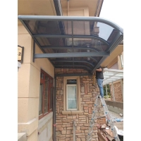 铝合金雨棚 阳台窗棚 屋檐遮阳雨棚 专业定制
