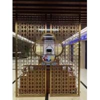 屏風不銹鋼隔斷簡約現代客廳家用進門中式網紅輕奢簡易玄關定制