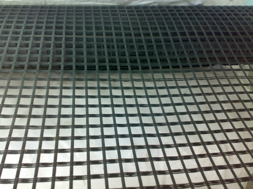 玻璃纖維土工格柵生產全過程