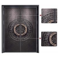 匠心铸铝门 书香精雕之门 西安铸铝门安装