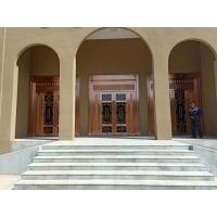 西安自动铜门维护 电动玻璃铜门维修