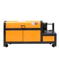 拉絲機全自動鋼筋調直切斷機液壓鋼筋拉直機拉絲機大型調直剪斷機