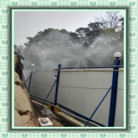 福建龙岩多功能喷雾降温除尘雾化系统