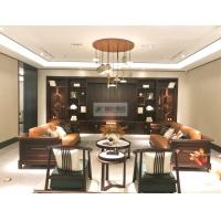 新中式实木沙发 实木家具 客厅实木沙发
