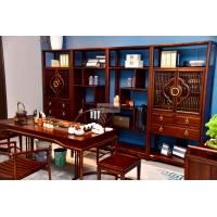 书房整套实木家具 乌金木实木家具