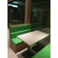 简约大理石西餐厅咖啡厅桌子奶茶甜品店洽谈桌椅长方小圆桌
