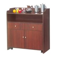 餐边酒水柜备餐厨房酒店商用储物茶水收纳碗柜现代简约木经济型