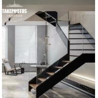 玻璃钢木楼梯-乌鲁木齐怡达楼梯