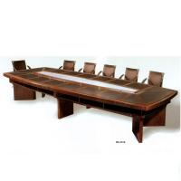 扬州会议桌长条大型实木会议桌大班桌培训中组合式电脑桌