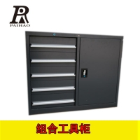 扬州冷轧钢组合工具柜维修车间高承重分类零件鬼中控锁储物柜