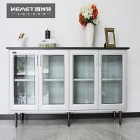 凯米特全屋全铝定制新中式铝合金端景柜鞋柜餐边柜客厅装饰端景柜