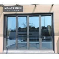 凯米特全屋全铝定制铝合金防夹手折叠门厨房客厅阳台双层钢化玻璃