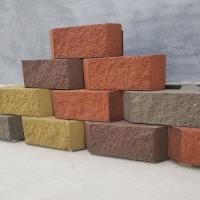 挡土墙400*300*150砖绿水砖业挡土砖舒布洛克挡土砖