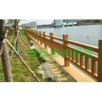 衢州仿木欄桿,開化仿木護欄,常山江山河道水泥仿木欄桿