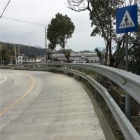 现货乡村道路高速波形护栏 定制公路双波镀锌护栏板喷塑护栏板